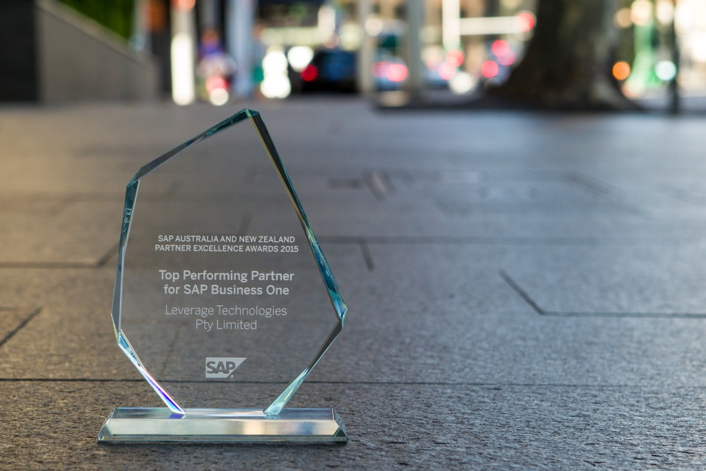 SAP Business One ANZ Award Winning for Top performing partner