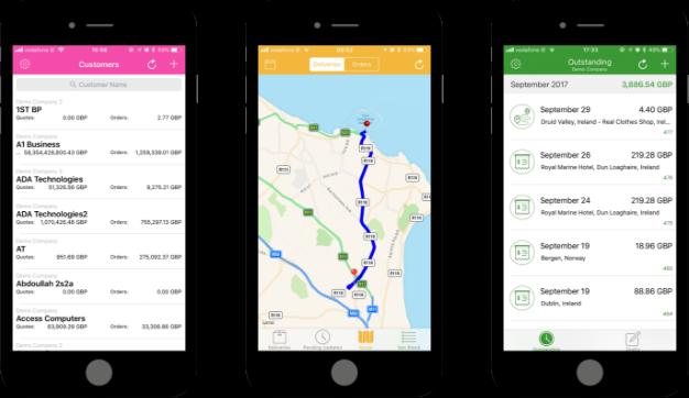 Enterpryze SAP Business One mobile app