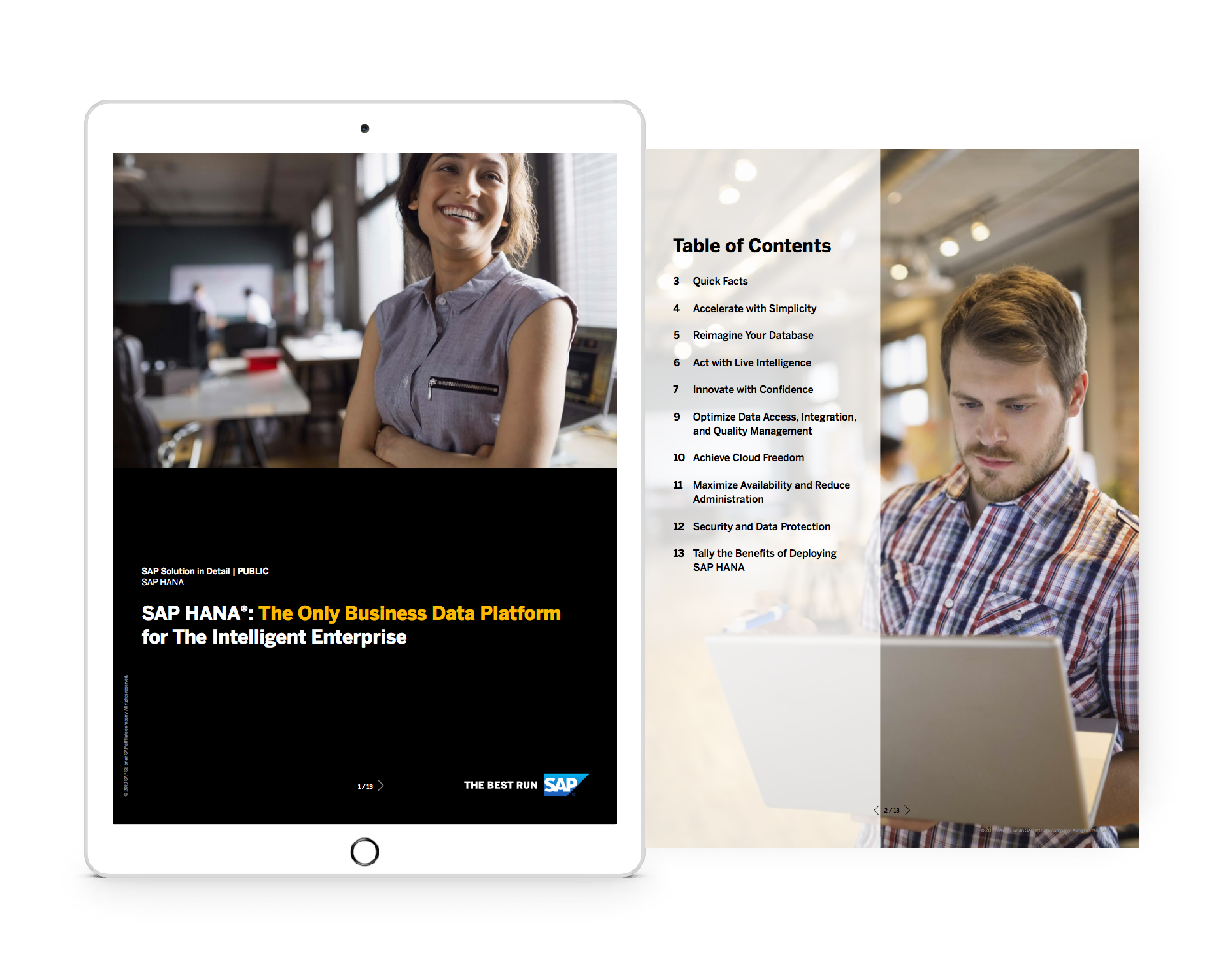 SAP Business One Mobility with HANA Database